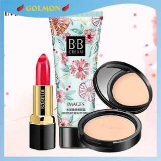 Bộ trang điểm IMAGES Son môi Dazzle + Phấn phủ kiềm dầu Cushion + Kem BB cream cho lớp make hoàn hảo GM-BTD-M301 thumbnail