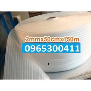 Xốp Foam trắng 50cm x 150m dày 2mm