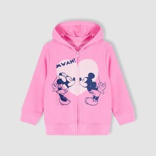 Áo khoác Mickey bé gái Rabity 5213