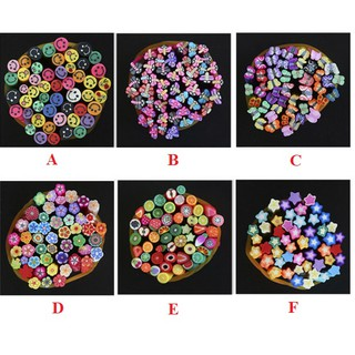 Thanh nhựa thủ công DIY đa dạng màu sắc họa tiết