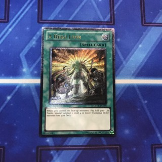 [Bài Yugioh] Ultimate Rare – A Hero Lives – GENF-EN098 Unlimited