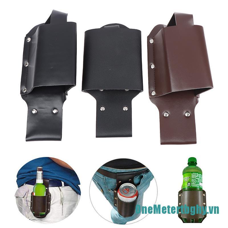OneMetertbghy❀❀Portable Outdoor Camping Beer Belt Bag Beverage Wine Holster Waist Bottle Holder