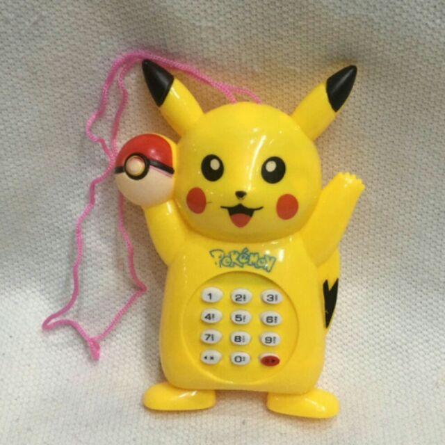 Đồ chơi điện thoại pikachu có nhạc