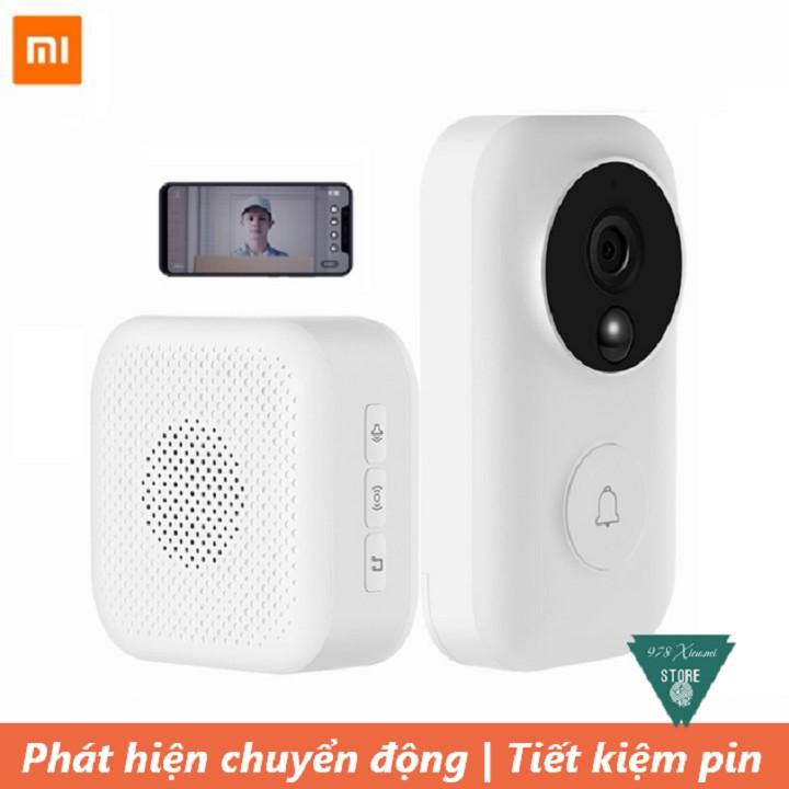 Bộ chuông cửa thông minh Xiaomi Dling FJ02MLWJ - Camera chuông cửa Xiaomi Mijia