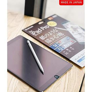 Miếng dán màn hình ELECOM Paper-like tablet iPad 11, Pro 9,7″ 10,5″ 12.9″ . Viết, Vẽ như giấy thật. Made in Japan