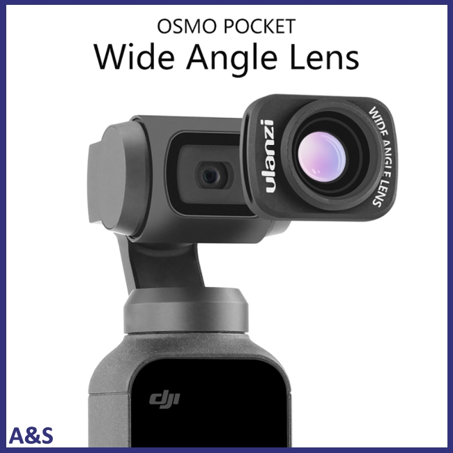 Ulanzi OP-5 Large Wide-Angle Lens for DJI Osmo Pocket Professional HD Magnetic Structure Lens