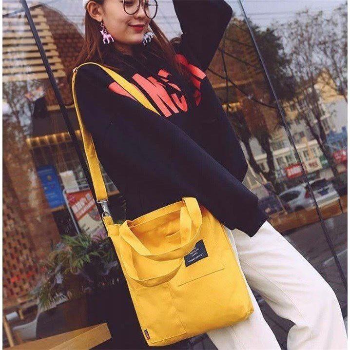 Túi Vải Phong Cách Hàn Quốc Loại 1 BT17