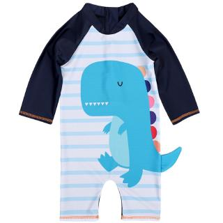 Ready Stock 1-7Years Kids Baby Boy s One-piece Swimming Suit Baju Renang Bayi