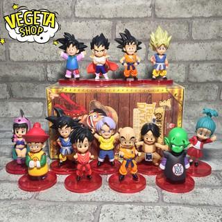Mô hình (Figure) Set Dragon ball WCF 13 nhân vật cao 8cm – Bán lẻ đồng giá 30k