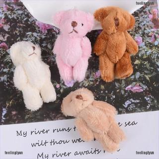 ❤TOP❤ Thú nhồi bông hình gấu mini 6cm nhiều màu dễ thương cho trẻ em ❤YO