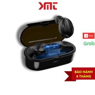 Tai nghe bluetooth 5.0 không dây nhét tai mini thể thao gaming pin trâu đèn LED hiển thị phần trăm pin KMT Store P14