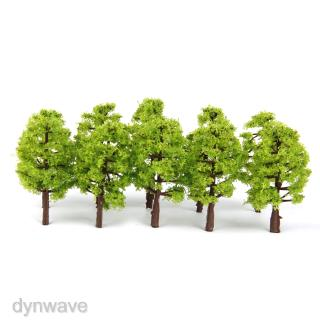 20 Light Green Tree Model Train Railway Wargame Diorama Architecture HO N