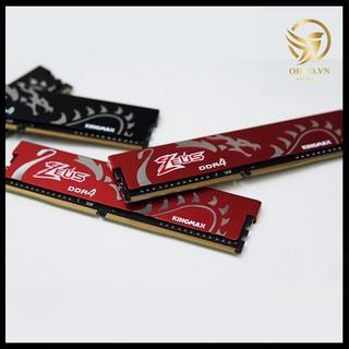 RAM DDR4 16G Tản Nhiệt Kingmax Heatsink Zeus RAM Máy Tính PC Mới Chính Hãng Bus 2666 & 3000 - OHNO VIỆT NAM thumbnail