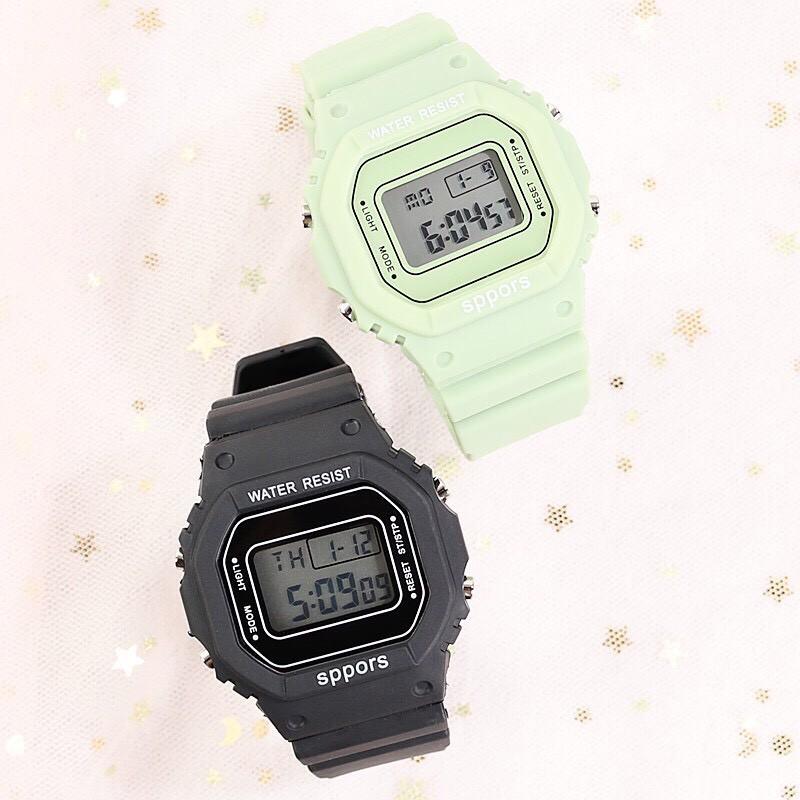 Đồng hồ điện tử nam nữ Sppors siêu đẹp QA829