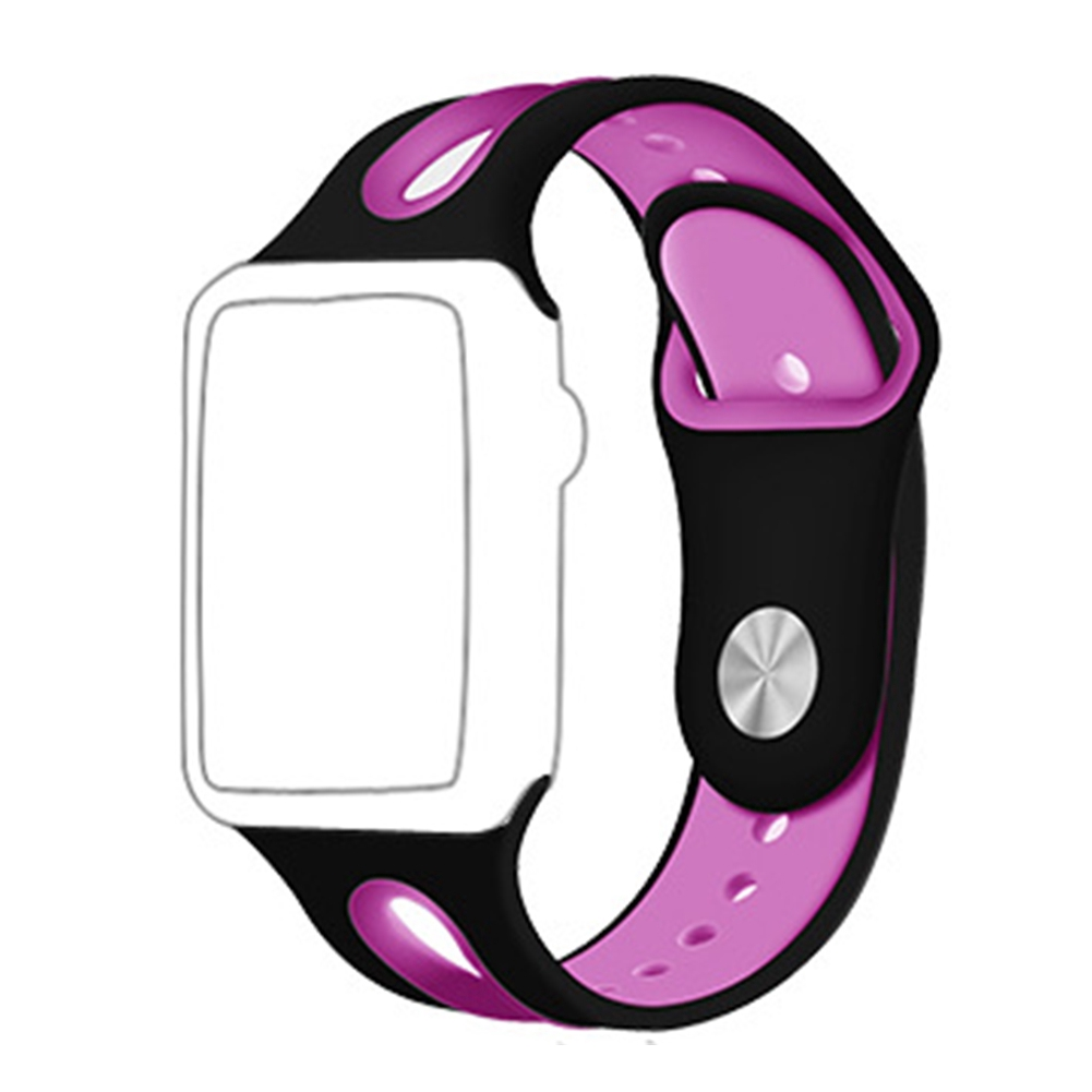 Adjustable Multi-color Silicone Soft Durable Fashion Replacement Watch Band Sports For Iwatch 1 2 3 4