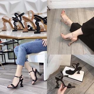 Sandal giày cao gót YS cực xinh cao 9cm bán giá xưởng - b91