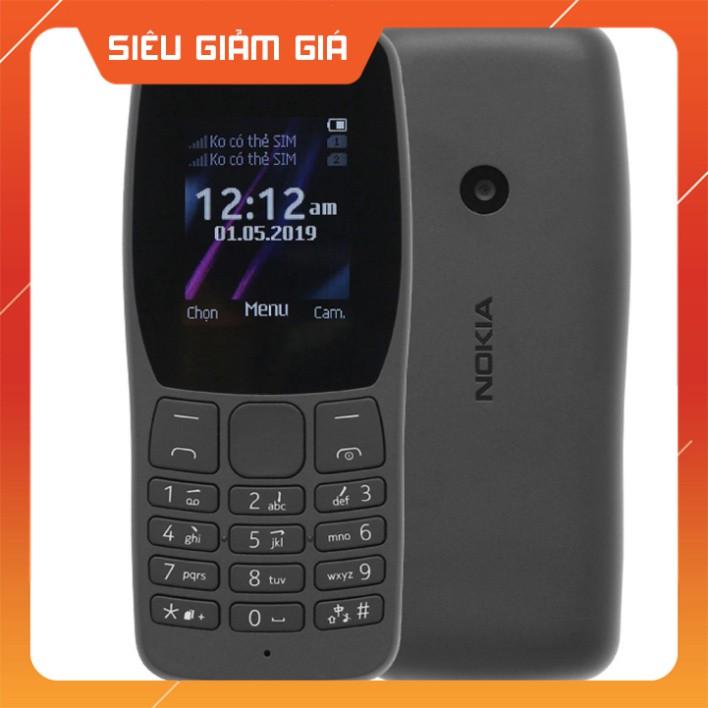 [ DEAL SỐC ] Điện Thoại Nokia 110 2 Sim (2019) - Hàng Chính Hãng Giao Hàng Toàn Quốc