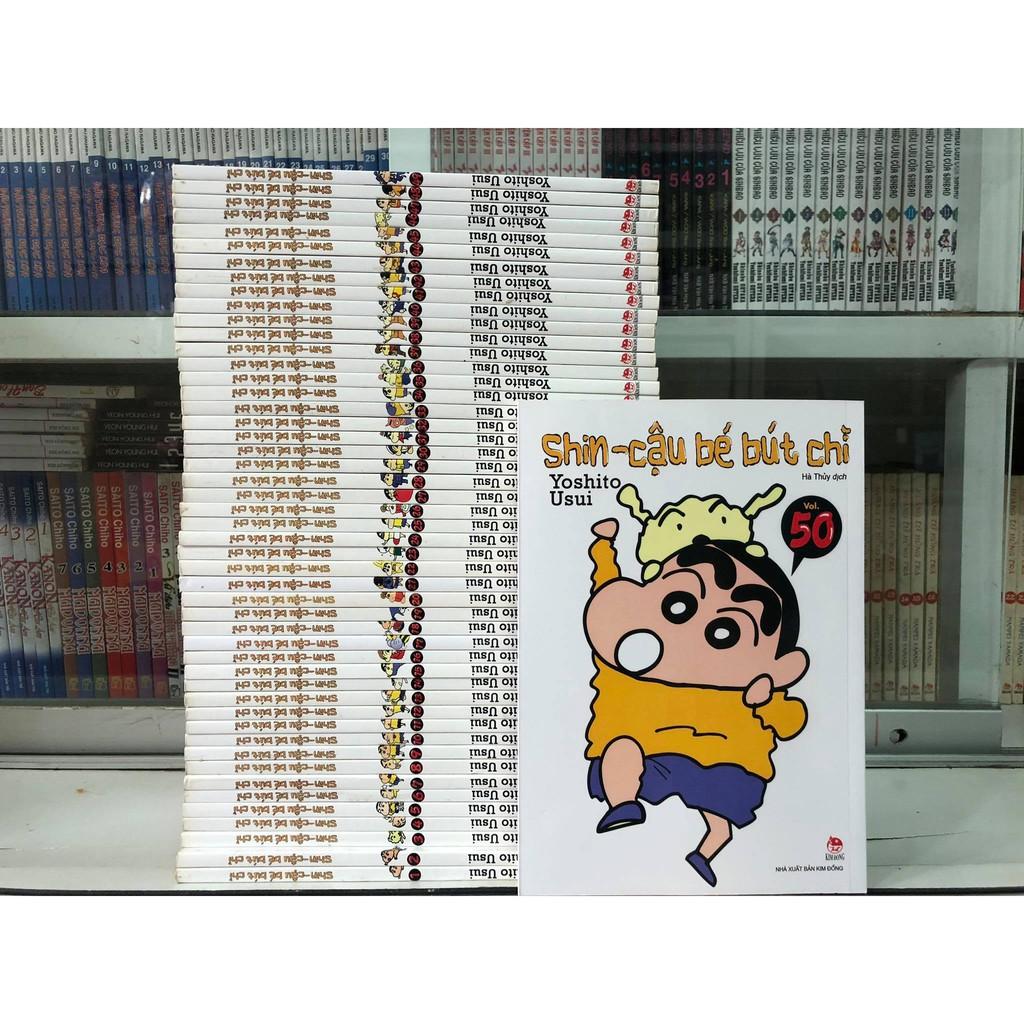 Truyện tranh Shin Cậu bé bút chì trọn bộ 50 tập