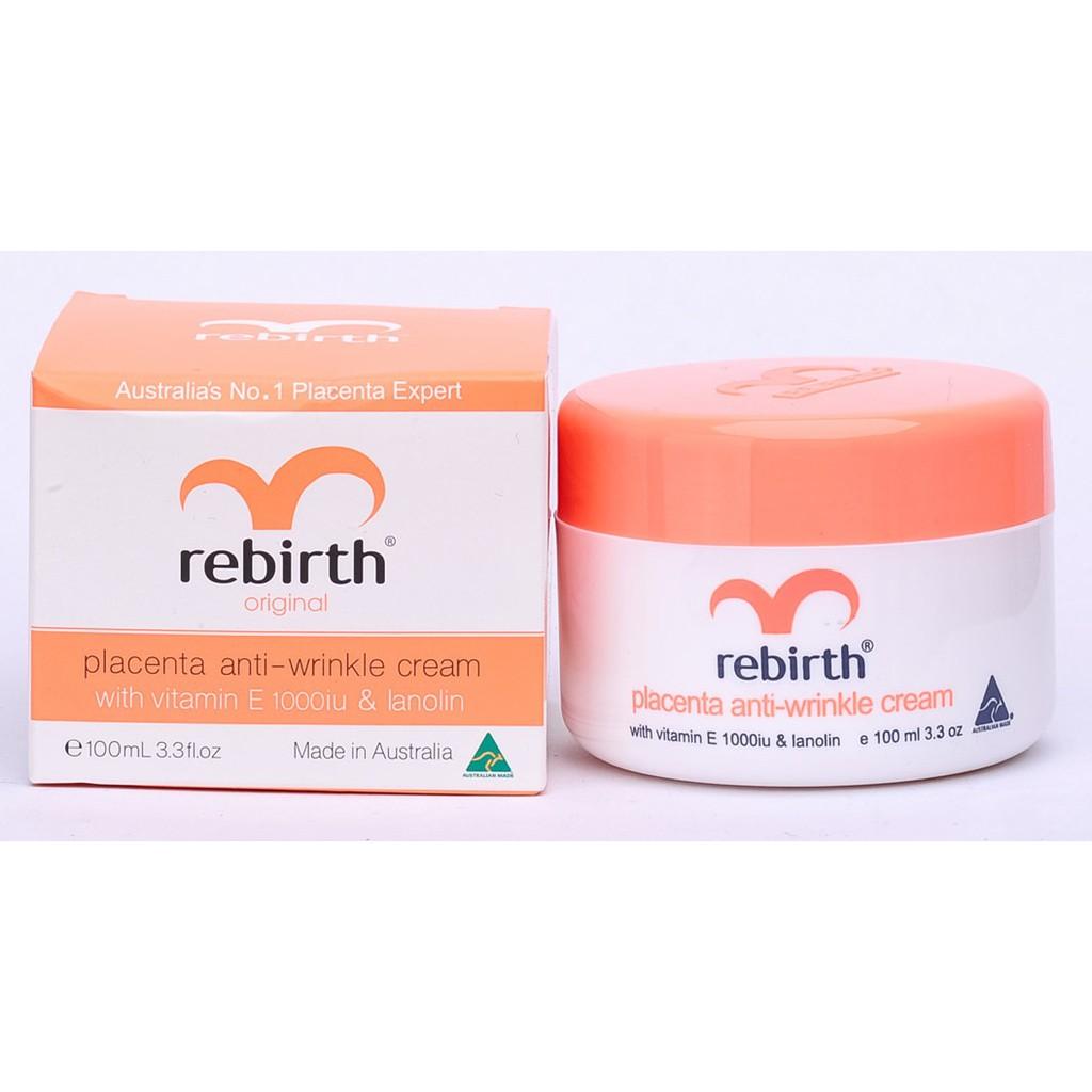 Kem Dưỡng Chống Nhăn Rebirth Placenta Anti-wrinkle Cream 100ml