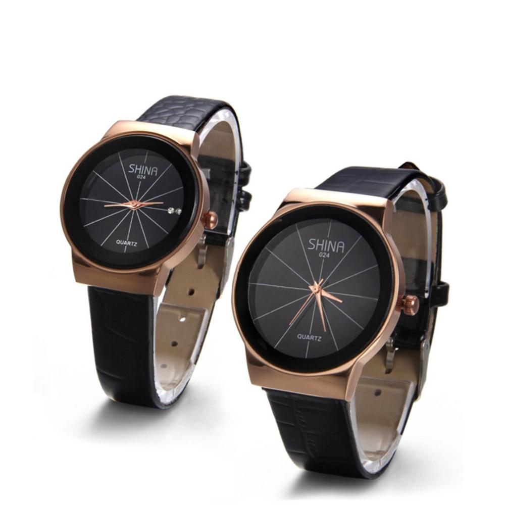 Đồng hồ đôi Shina SN086 (Đen) dây da - 2398428 , 91456808 , 322_91456808 , 369000 , Dong-ho-doi-Shina-SN086-Den-day-da-322_91456808 , shopee.vn , Đồng hồ đôi Shina SN086 (Đen) dây da