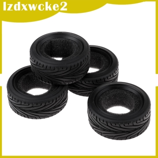 GamZine 1/10 RC Racing Car Model Parts Rubber Tires Tyres 4x for HSP HPI DIY