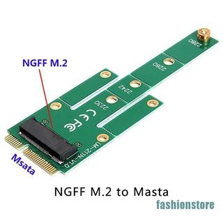 Card Chuyển Đổi Msata To M.2 Ngff 6.0gb / S Cho 2230-2280 M2 Ssd