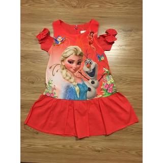 váy cho bé gái elsa v73