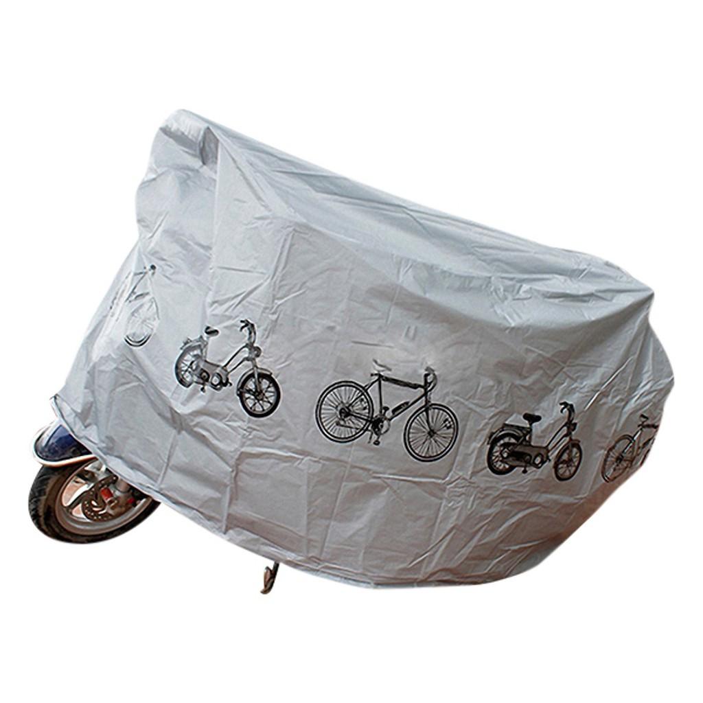 Bạt phủ chống nắng cho xe máy, chất liệu chống thấm nước