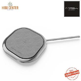 [Tiện dụng, Cao cấp] Đế sạc NHANH không dây Mipow Power Xcube BTC500 Leather Genic BTC500 - Follow HIBUCENTER Giảm 5%