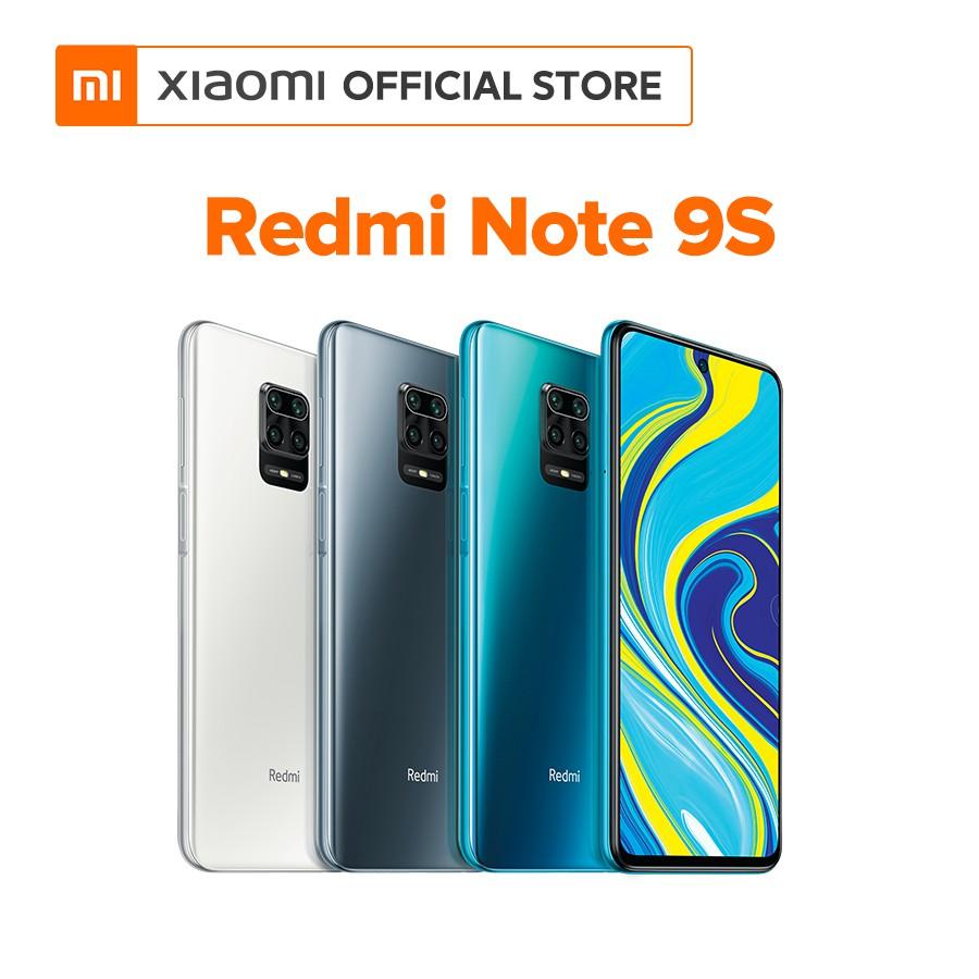Điện thoại Xiaomi Redmi Note 9S 4GB/64GB - Hàng chính hãng - Bảo hành điện tử 18 tháng