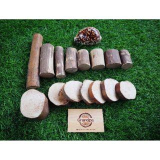 Set 15 chi tiết gỗ ổi (kèm túi canvas)