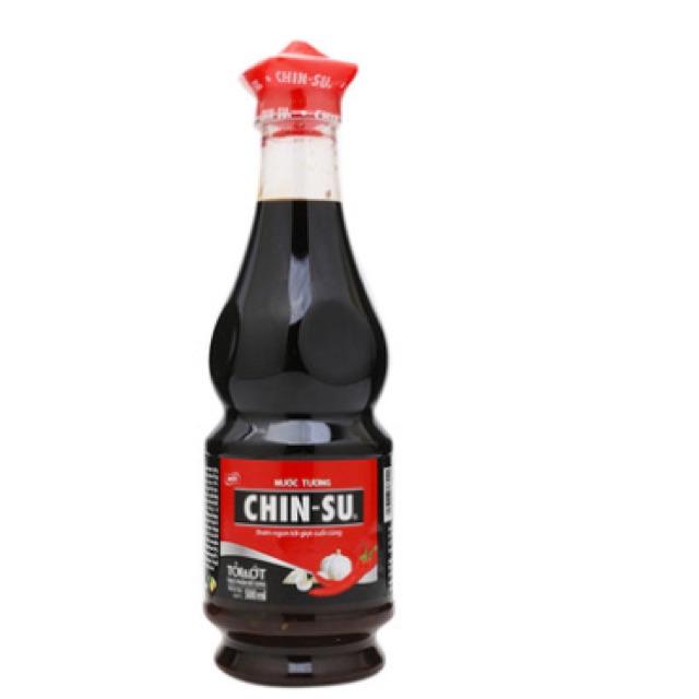 Nước tương tỏi ớt Chin-su 500ml