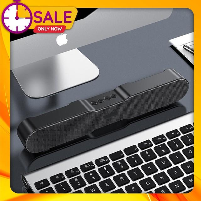 Loa Thanh Siêu Trầm Bluetooth Gaming Soundbar T13 Hỗ Trợ Thẻ Nhớ, USB, Jack 3.5 Dùng Cho Máy Vi Tính PC, Laptop, Tivi