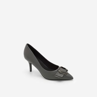 Hàng Mới Về Vascara – Giày Cao Gót Đính Nơ – BMN 0331 – Màu Xám
