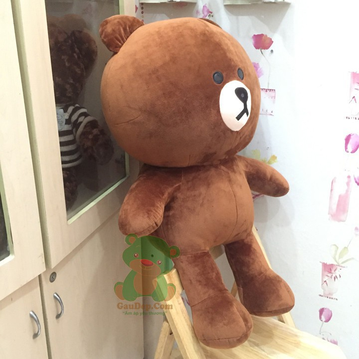 [ HOT SALE ] Gấu Bông Brow khổ vải 1,2m cao 1mcm
