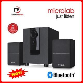 [Mã ELMS5 giảm 7% đơn 300K] Loa vi tính Microlab M106BT 2.1 – Âm thanh cực hay – Có bluetooth Chính Hãng