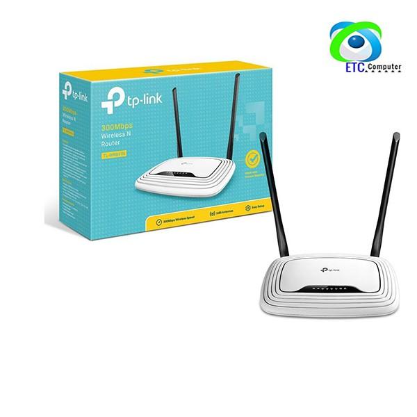 [Mã ELFLASH5 giảm 20K đơn 50K] Bộ phát wifi TPLINK WR 841N 300Mbps - BH chính hãng 24 tháng