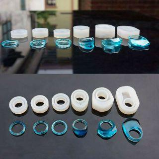 Khuôn silicone nhẫn làm trang sức resin
