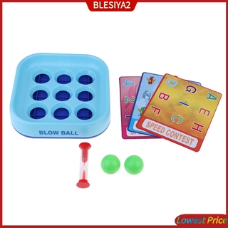 [BLESIYA2] Blow Ball Board Games for Kids Children Memory Training Puzzle Game Table