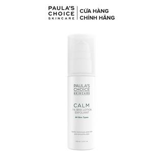 Loại bỏ tế bào chết dịu nhẹ Paula s Choice Calm 1% BHA Lotion Exfoliant 100ml Mã 9100
