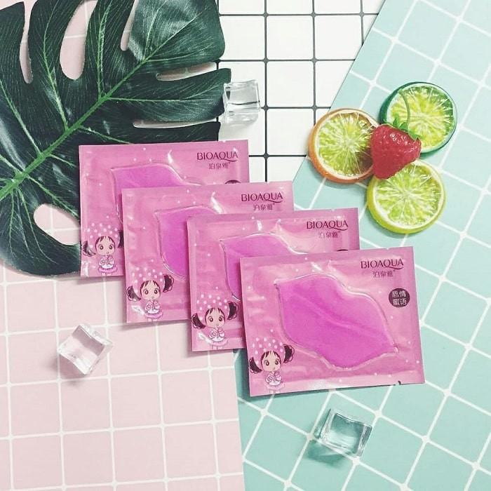 Mặt nạ môi Bioaqua dưỡng ẩm môi, làm hồng, chống khô và thâm môi