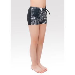 Quần bơi bé trai Narsis KQ0002 đen phối vải bơi vân đen đá thumbnail