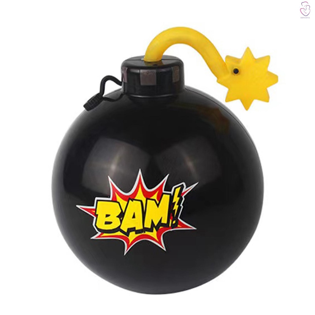 Water Spray Toy Water Ball Game Toy Terrified Toy Pass the Ball for Family Children Fun Party Game