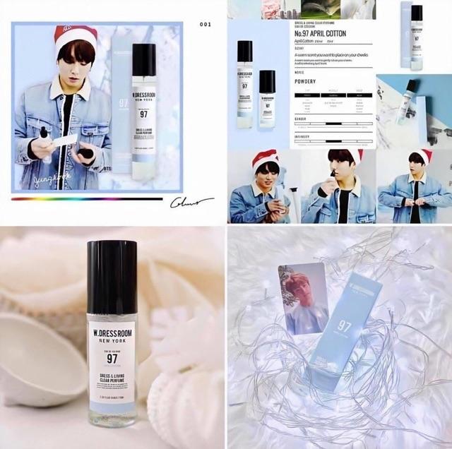 (CÓ BILL) Nước Hoa W.dressroom Dress & Living Clear Perfume siêu thơm