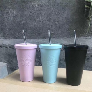 Ly giữ nhiệt STARBUCKS Matte one-color embossed logo ver1