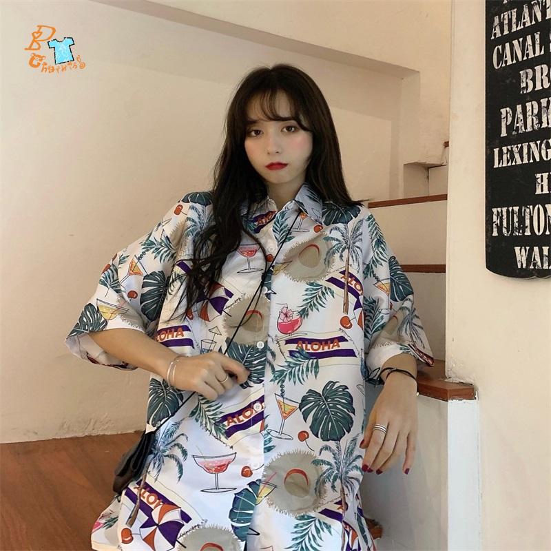 áo sơ mi Polo Hàn Quốc Dáng Rộng Cho Nam Và Nữ