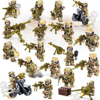 Combo 8 bộ lắp ráp lính biệt đội Sói Lửa NON LEGO 82015