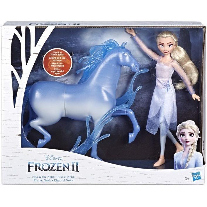 Đồ chơi búp bê nữ hoàng băng giá Elsa và sinh vật huyền bí Nokk E5516