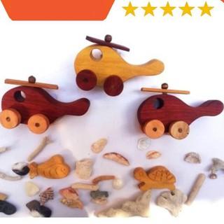 (MỚI RA MẮT) Máy bay đồ chơi bằng gỗ an toàn và hấp dẫn cho bé yêu khám phá