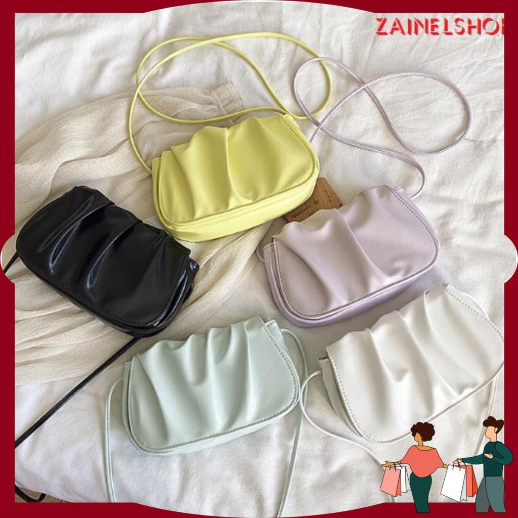 Túi xách nữ gấp nếp mùa hè mới lạ 2020 phong cách Hàn Quốc - Mã Z0018